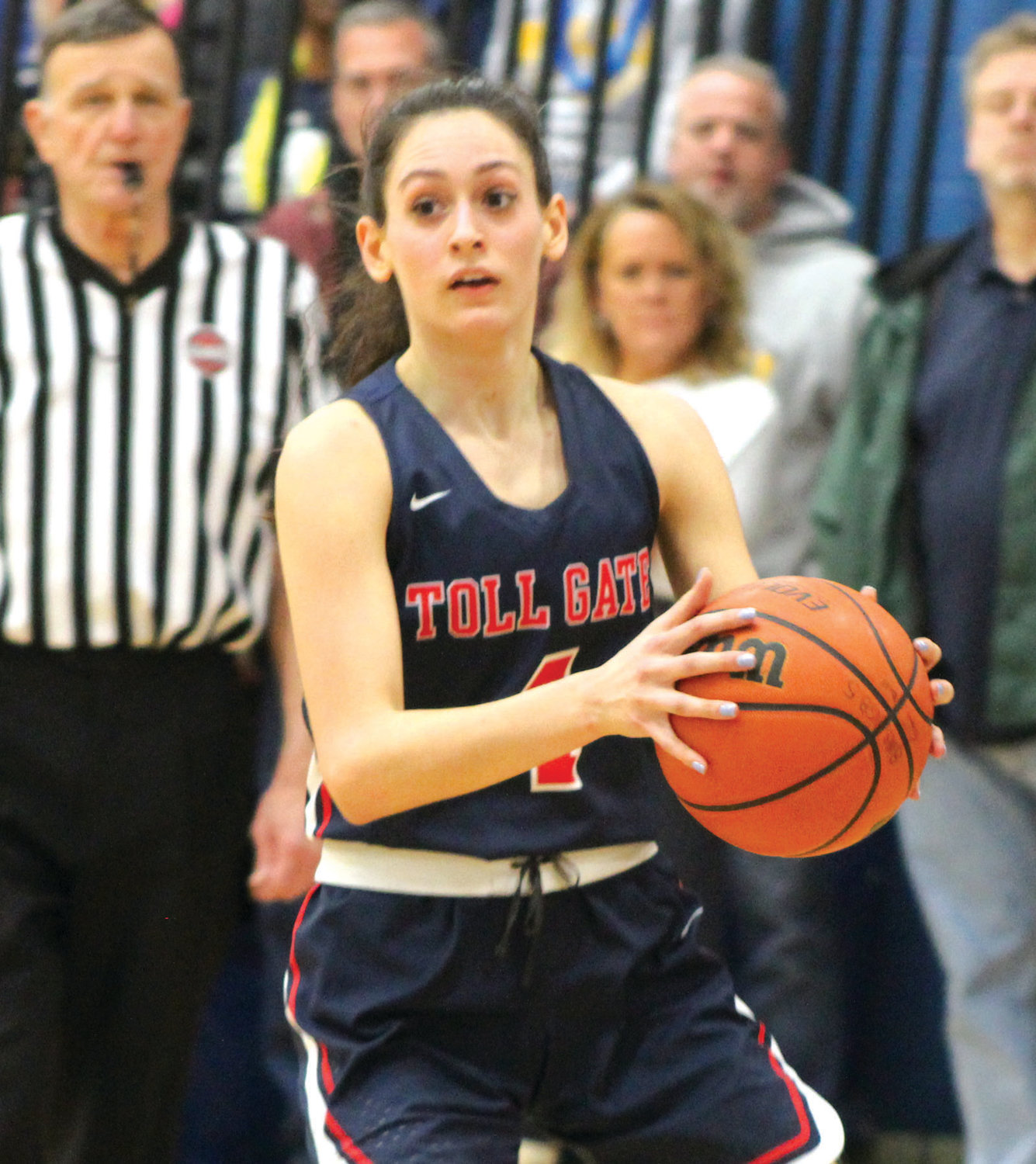 PLAYING THE POINT: Toll Gate's Natalie Aloisio.