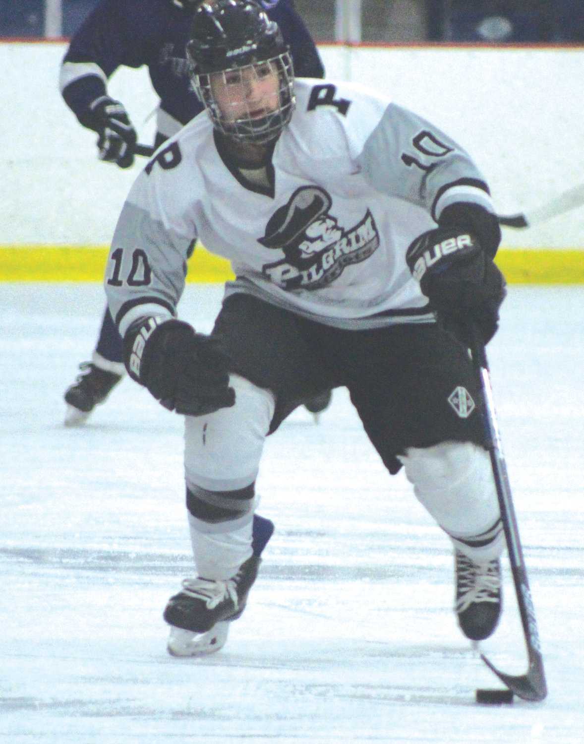 UP THE ICE: Pilgrim's James Cook.