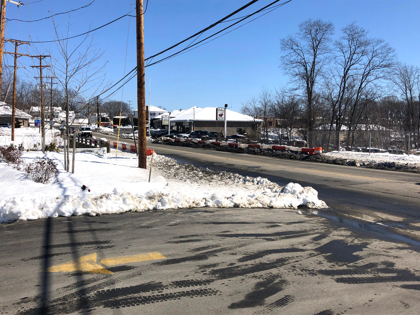 WORK AHEAD: A detour will be put in place starting March 11 for eastbound vehicles on Route 12 as the state conducts rehabilitation work on the bridge carrying Park Avenue over the Pocasset River.
