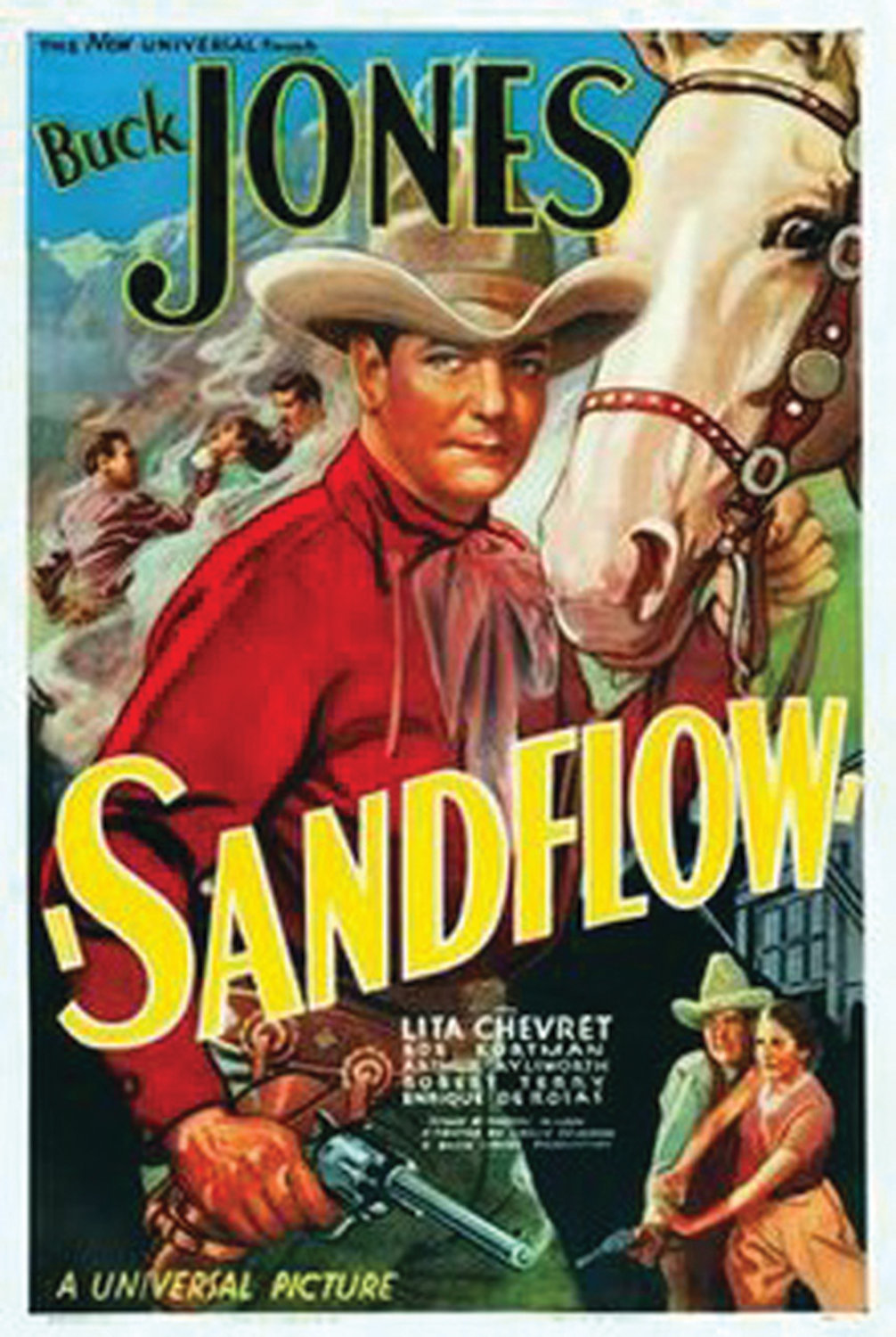 "Arthur Preston Aylsworth acted in more than 100 movies during his career, including 1937's ""Sandflow"" alongside Buck Jones."