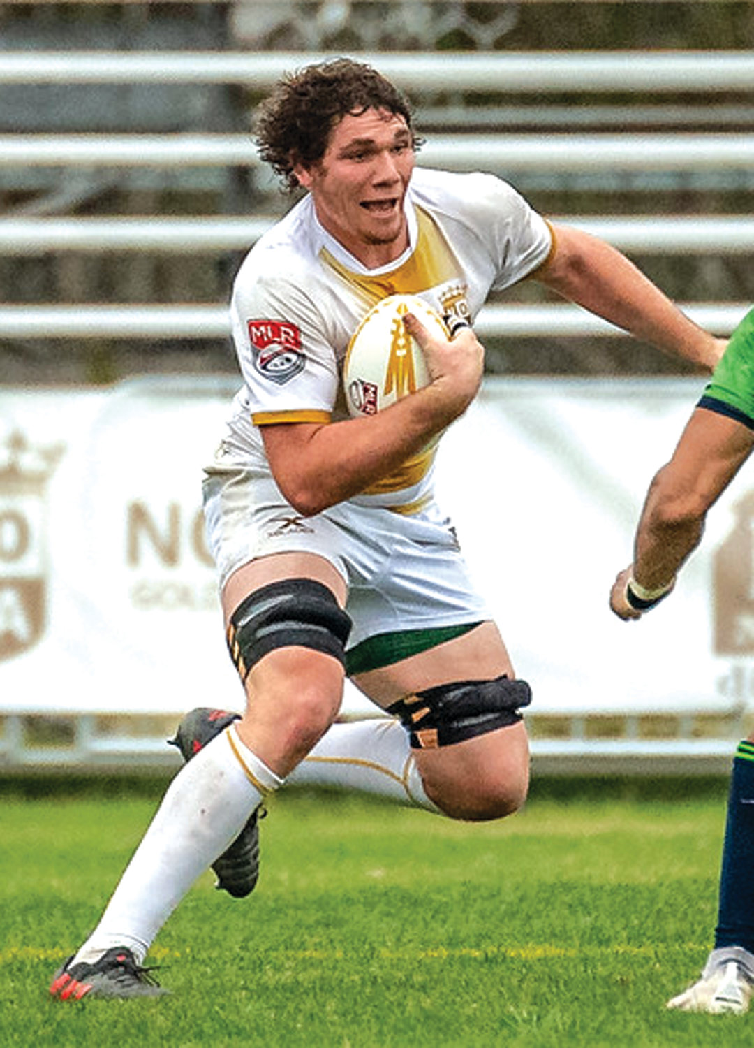 CARRYING ON: Warwick native and NOLA Gold rugby player Billy Stewart.