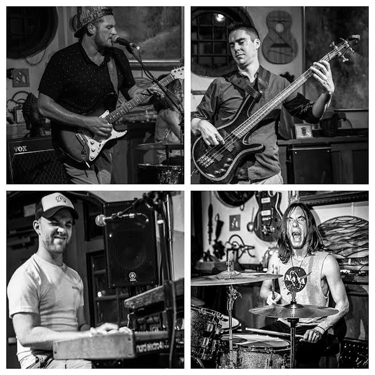 FUNKY FOUR: After starting out as a trio, Johnston's Tai Chi Funk Squad is now a quartet consisting of guitarist and vocalist Jake Anderson, drummer Dylan Butler, bassist Rob Anthony and keyboardist Thomas White.