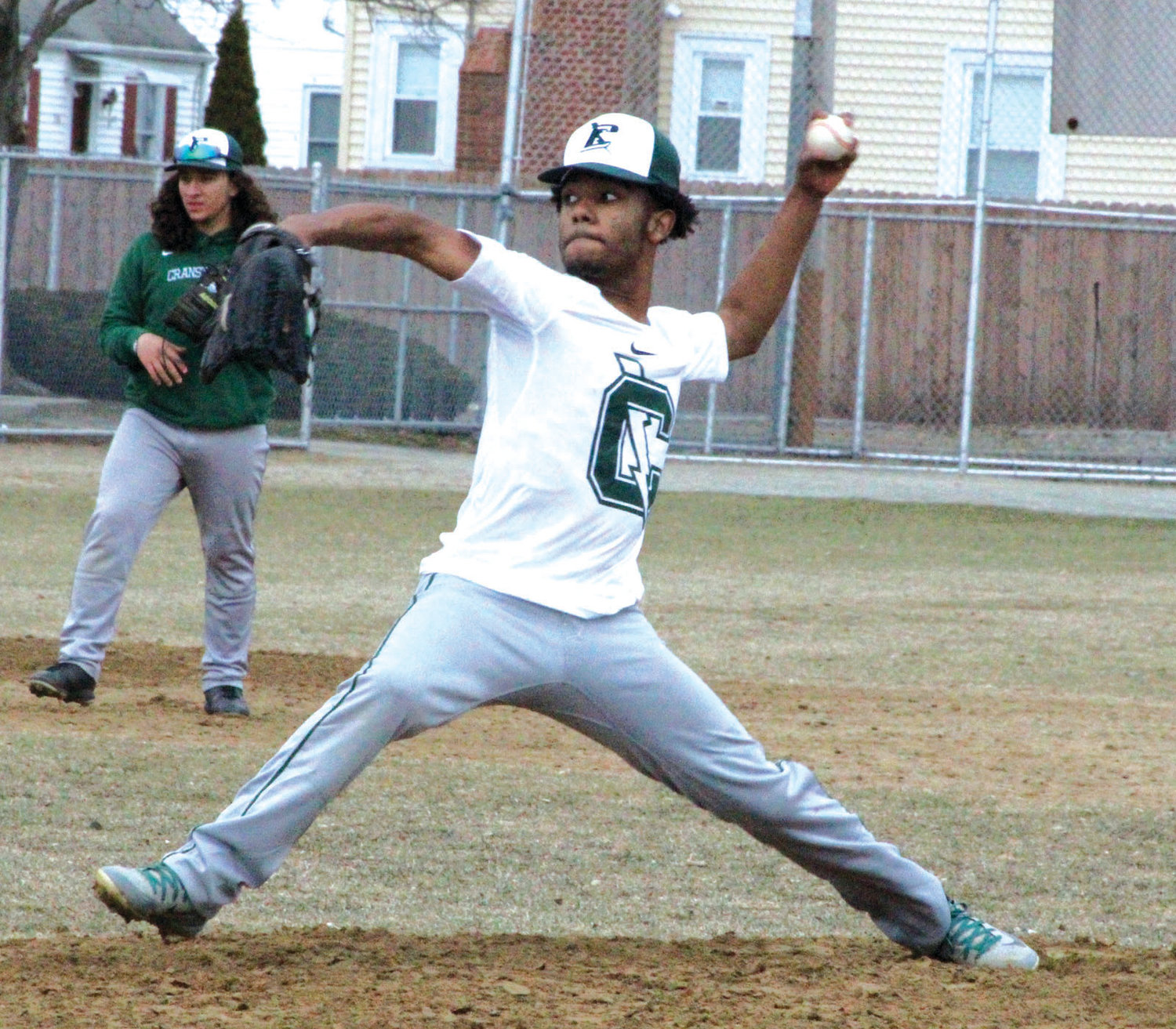 ON THE HILL: East pitcher Jorge Pizarro delivers in a recent scrimmage.
