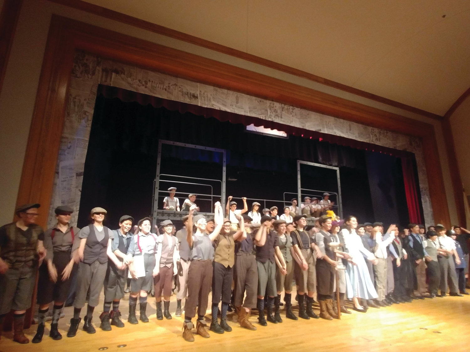 Hope Highlands drama club performs 'Newsies' to sold-out audiences