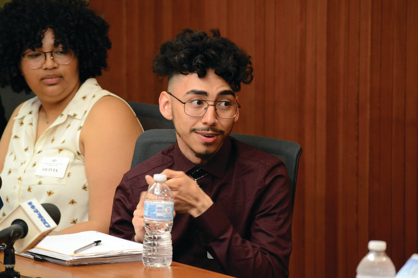 GOING PLACES: Andres Escobar, a first-generation American and first-generation college student, will graduate from CCRI with a 4.0 in May after just one year. He looks to go to school in Boston or at Brown.