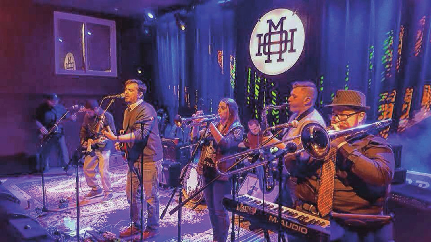 DANCE MUSIC: El Grande from Portland, Maine, will join Rhode Island groups RI Bred and They Were Robots during an April 20 ska concert at Revival Brewing Company in Cranston.