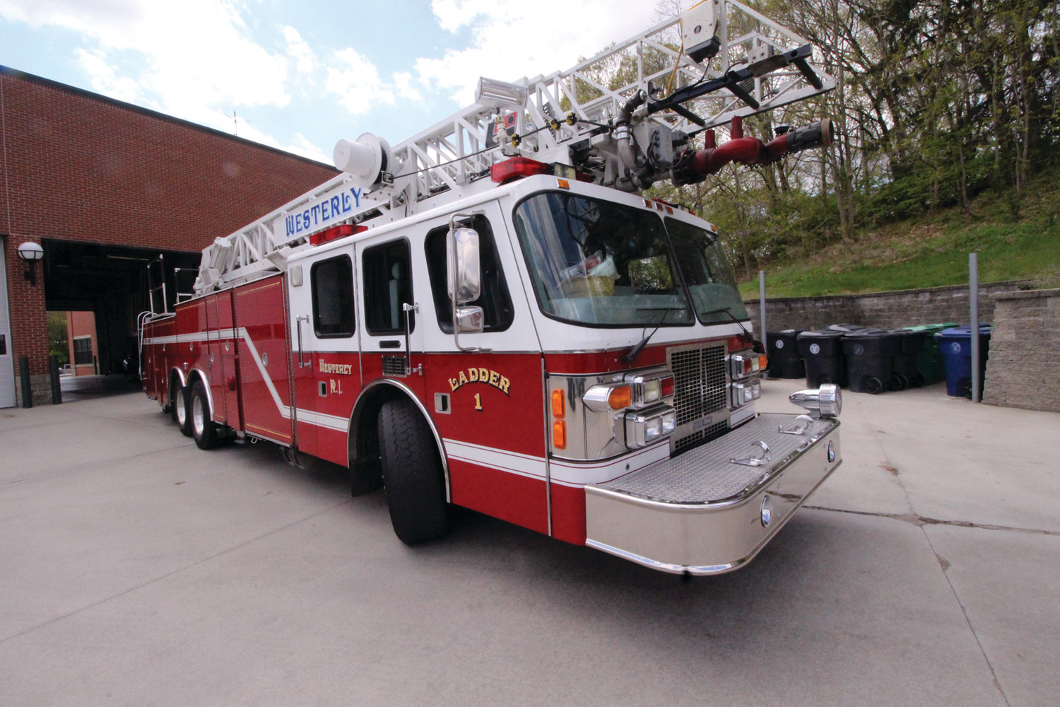 New chief delivers with $25K fire truck purchase | Warwick