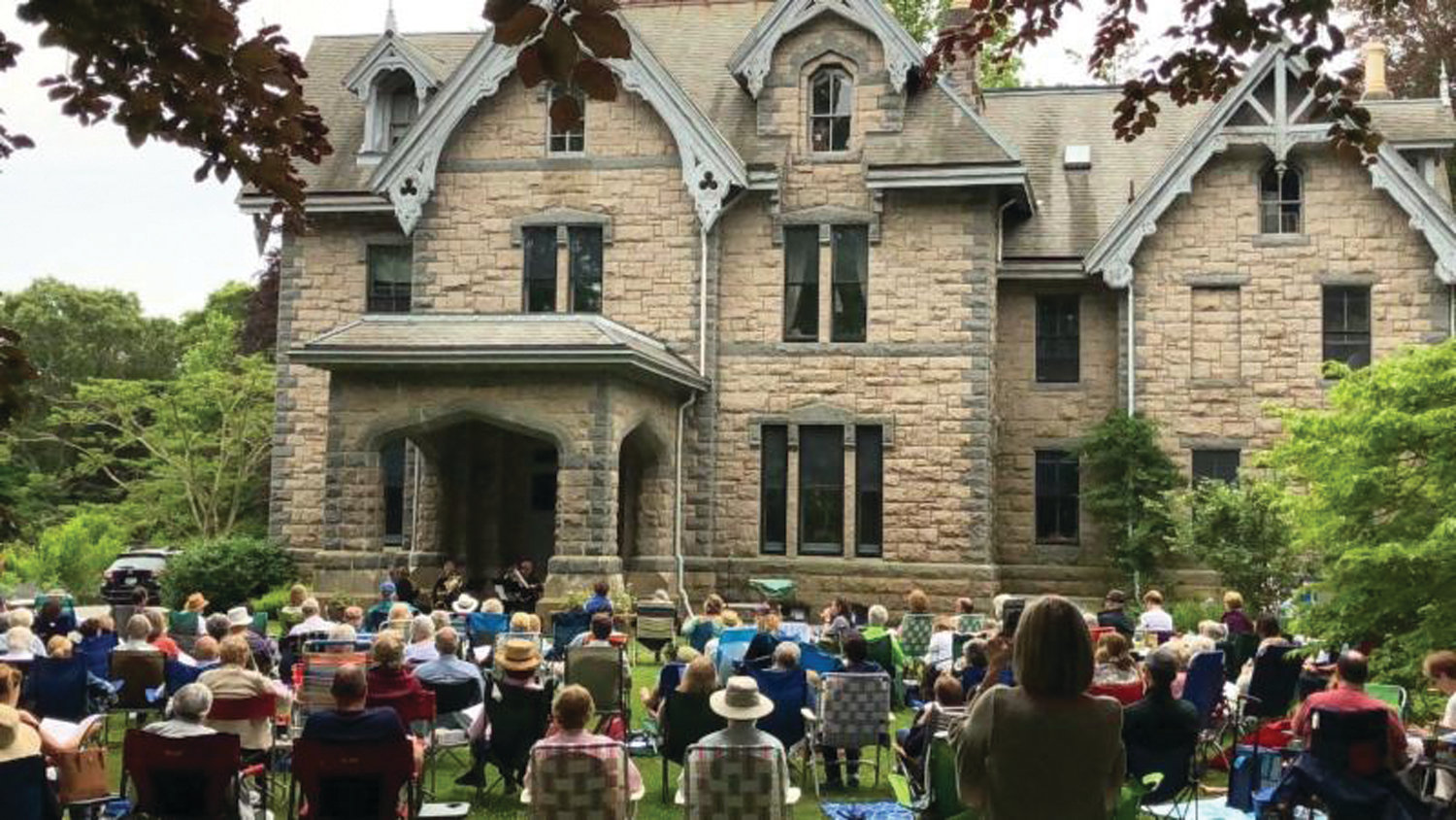 GREAT OUTDOORS: The Music on the Hill festival will return to Clouds Hill Victorian House Museum in Warwick for this year's opening performance on June 2, featuring the Narragansett Brass Quintet.