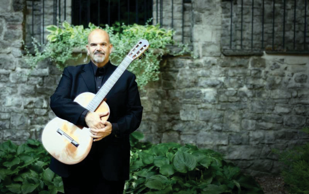 SONATA SHOWCASE: Nicholas Goluses, who creates and leads the guitar program at the Eastman School of Music, will perform Sonata No. 3 in C Major during the June 9 Music on the Hill concert at St. Gregory the Great Church in Warwick. The concert will feature the music of Johann Sebastian Bach.