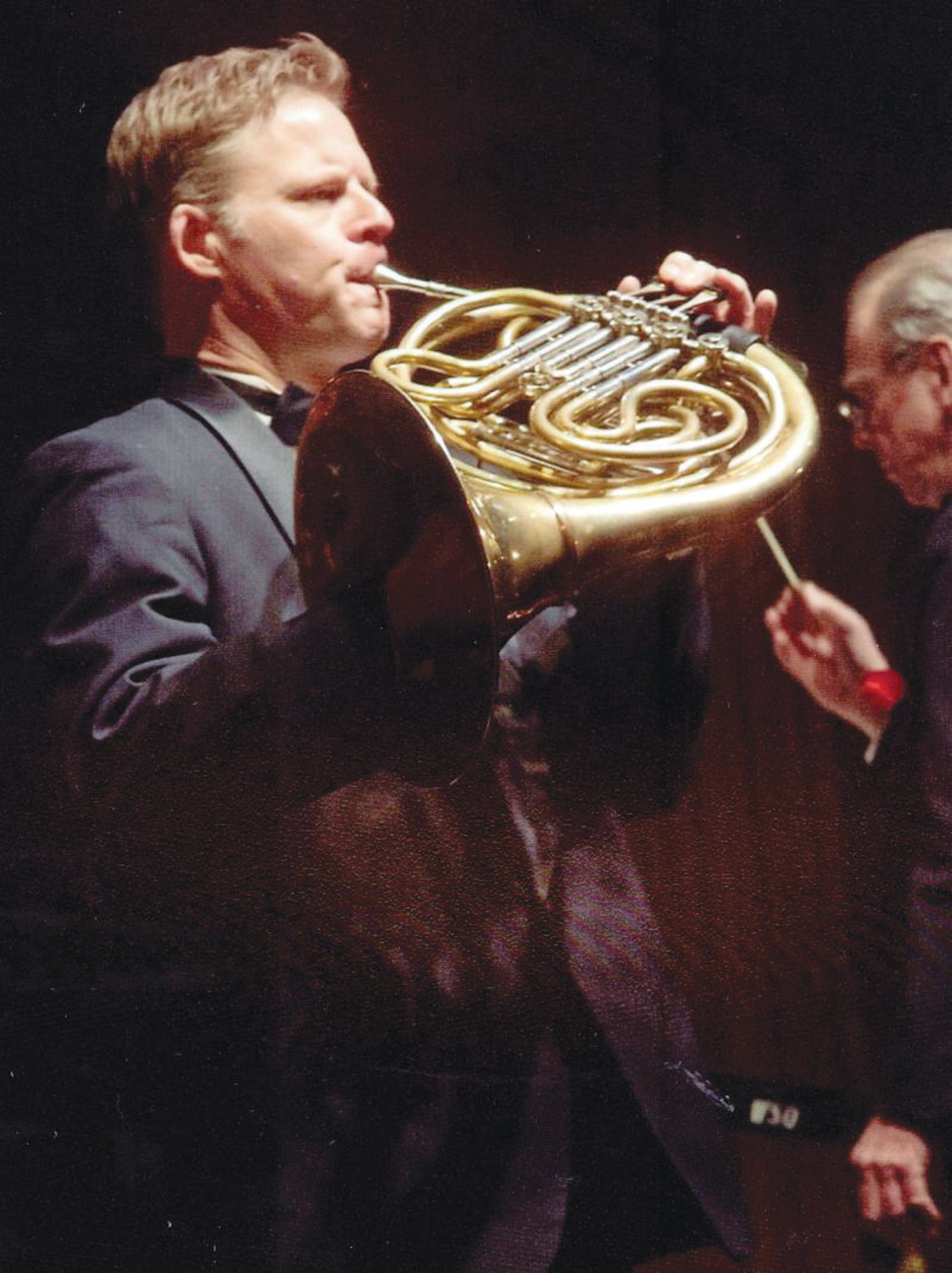 SWEET MUSIC: Kevin Owen, pictured performing on French horn, will be among the musicians taking part in the 45th Music on the Hill chamber music series starting June 2.