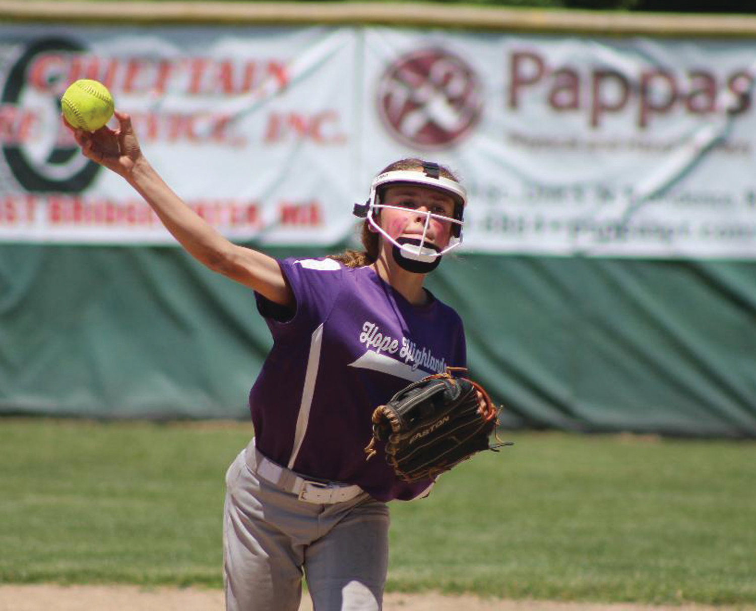 PLAYING THE FIELD: Hope Highlands' Siena Nardelli.