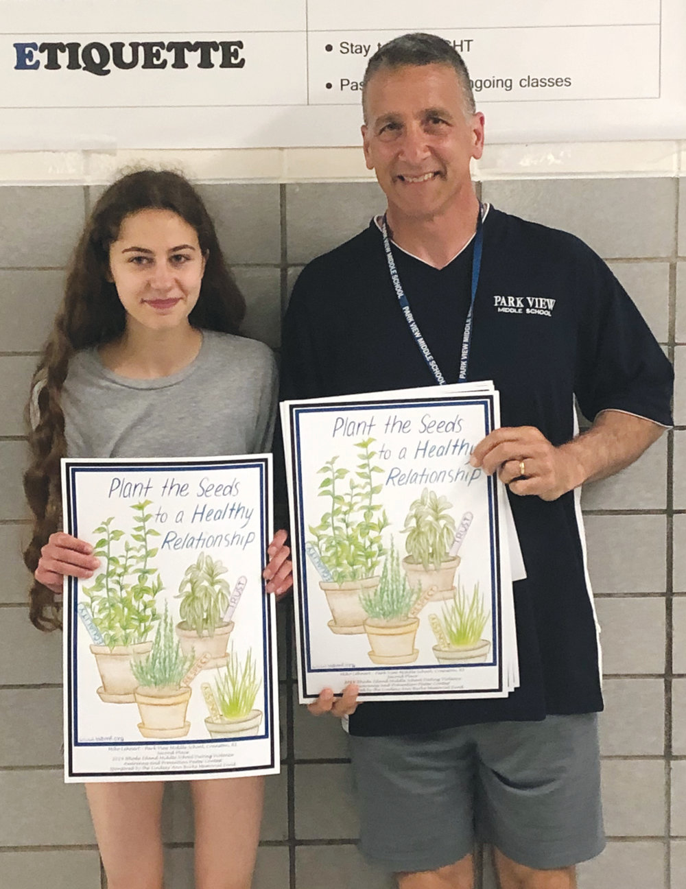 Park View student honored in poster contest | Cranston Herald