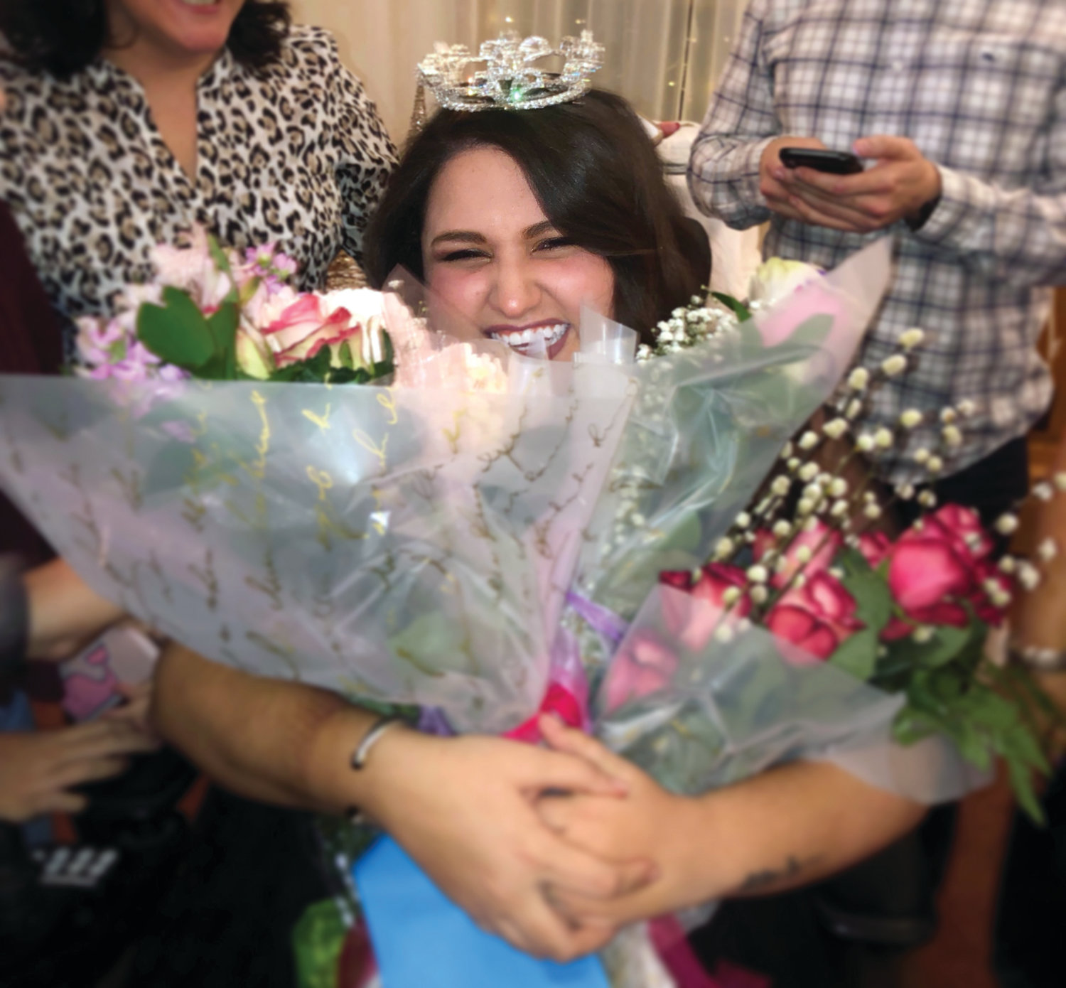 "NOTHING BUT MAGICAL: Johnston's Ashley Cabrita, who was named Ms. Wheelchair Rhode Island in February, will represent the state next week at the national competition. Cabrita told the Sun Rise that her reign thus far in Rhode Island has been ""nothing but magical."""