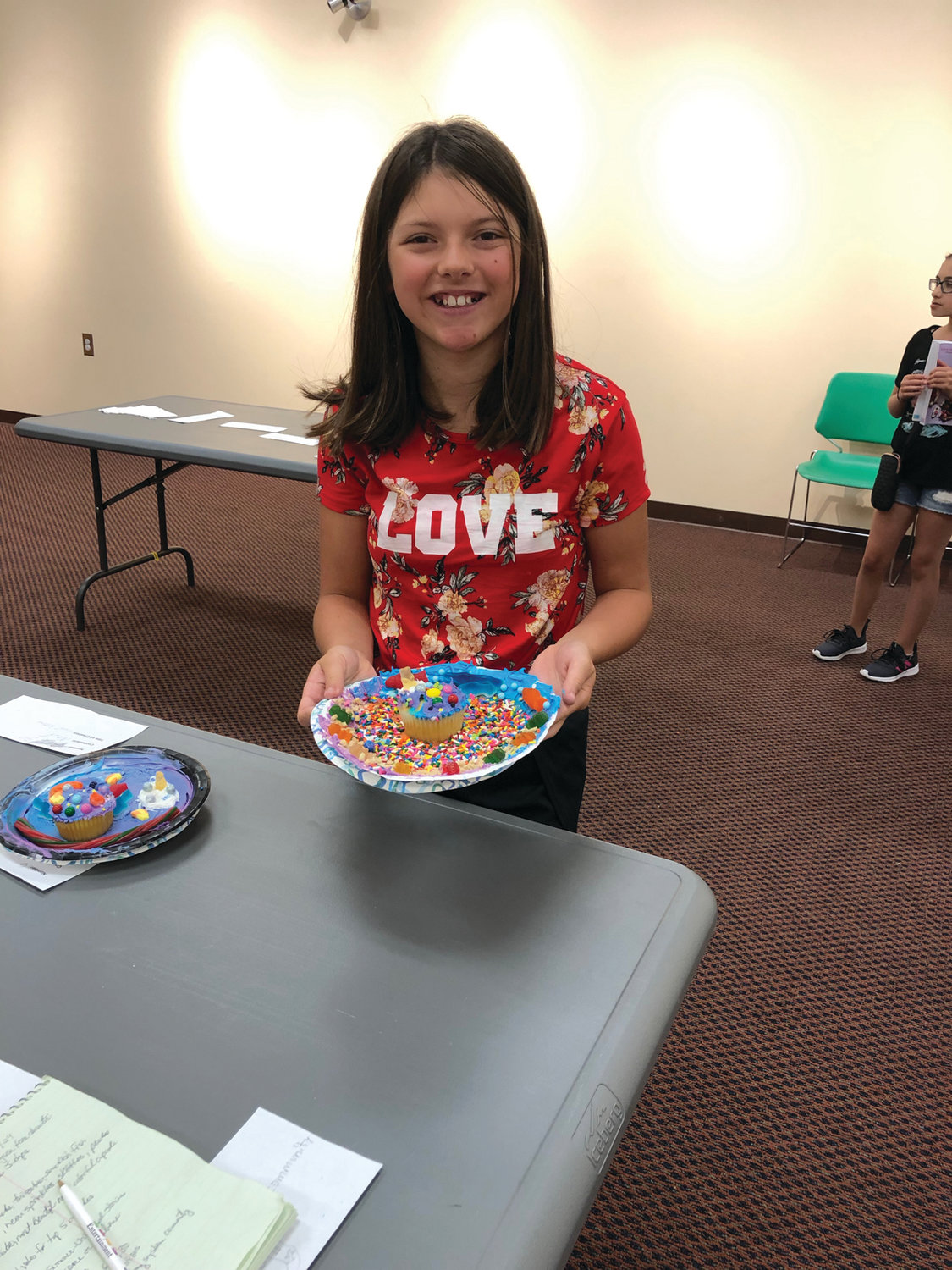 CUPCAKE CHAMP: Thirteen-year-old Adrianna Prete, an eighth-grader at Western Hills Middle School, claimed bragging rights as the first Cupcake Wars winner.
