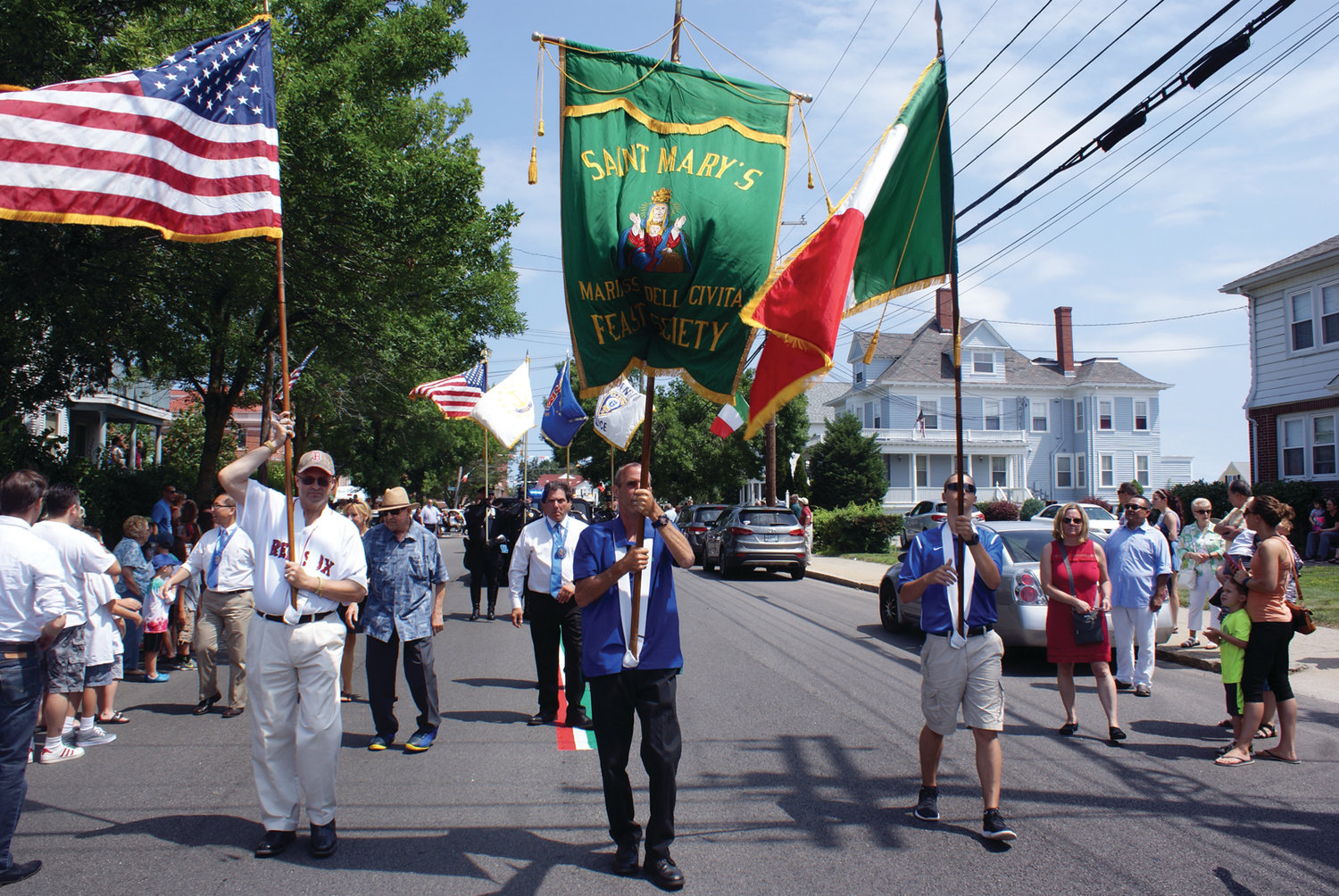 JAM-PACKED SCHEDULE: This year's St. Mary's Feast features a full slate, including entertainment from Classic Blend, DJ Eddie the Fixer and Domenic DePasquale, as well as the 47th annual 5.5-mile road race.