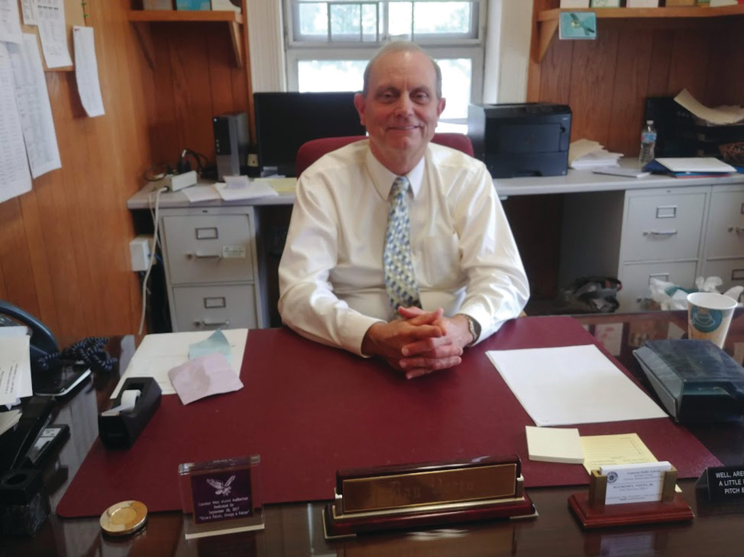 MOVING ON: Raymond Votto recently retired after 15 years as chief operating officer for Cranston Public Schools.