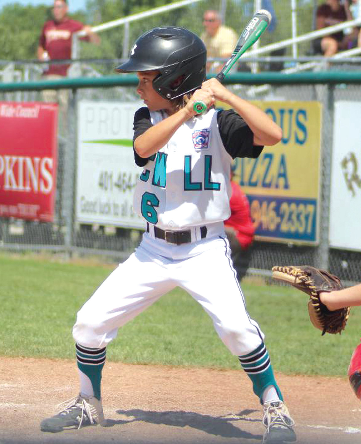 EYE ON THE BALL: CWLL's Dylan Guglietta.