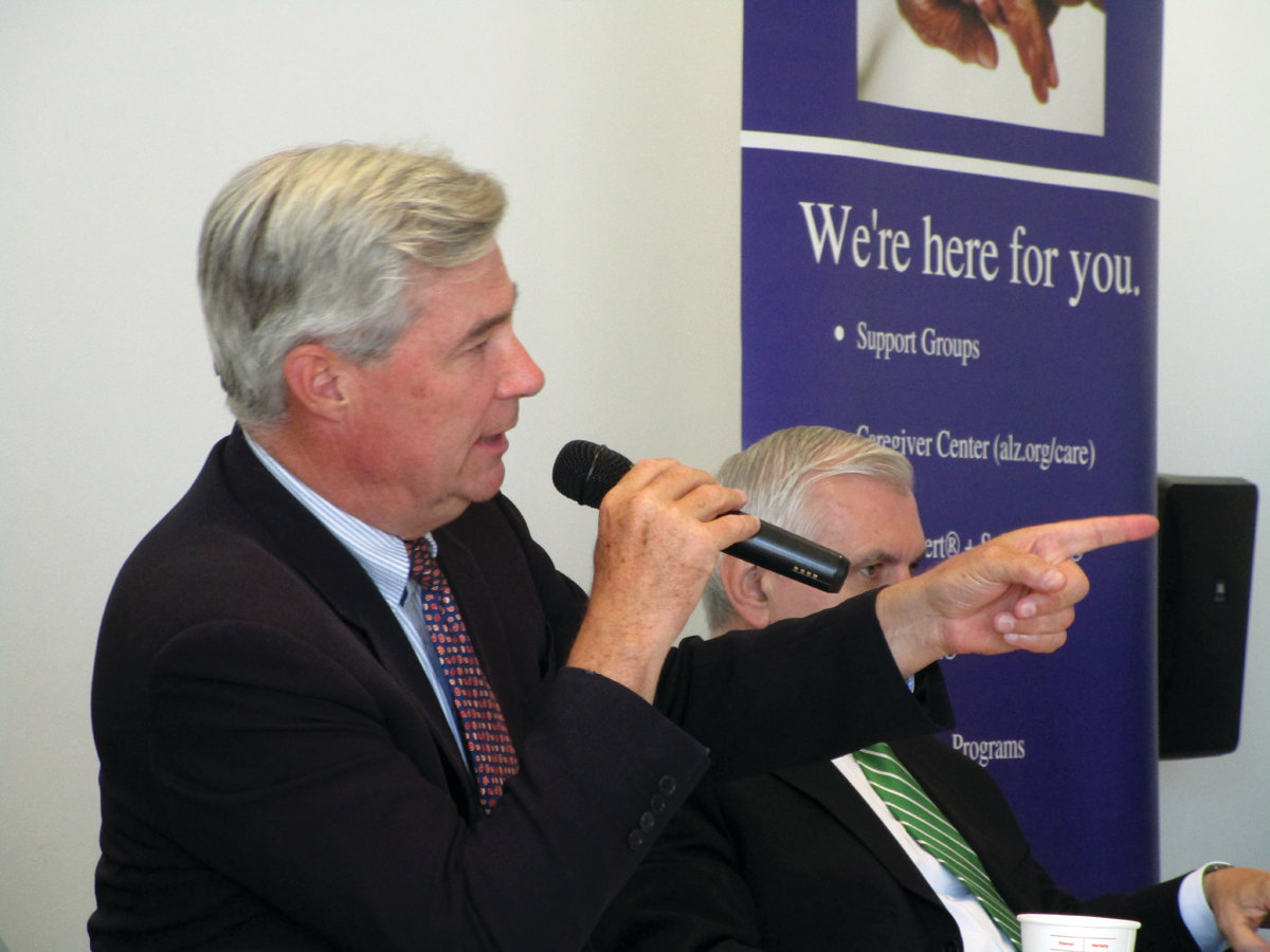 "LEADING THE WAY: U.S. Sen. Sheldon Whitehouse said thanks to impending changes on the federal level, Rhode Island has a ""real chance"" to become a national model in terms of end-of-life care."