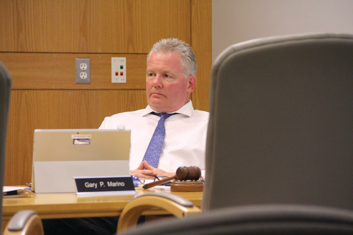 STAY ON TOP OF THE DETAILS: In the absence of a director, Gary Jarvis, chair of the Warwick Sewer Authority, urged staff to pay special attention to procedural details and to communicate.