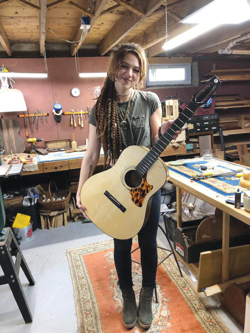 MUSIC MAKER: Ariel Rose Bodman of the Aldrich Mansion Music Academy says she is dedicated to providing a high-quality, contemporary and accessible approach to music education for local students.