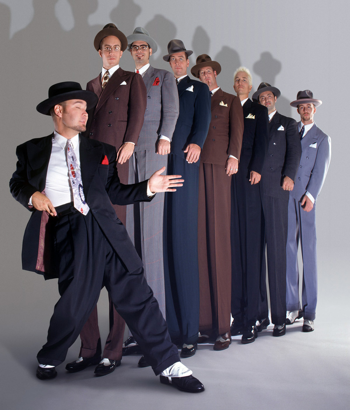 SWINGIN' SOUNDS: Scotty Morris and his Big Bad Voodoo Daddy bandmates will perform at the Park Theatre in Cranston on Sept. 26. The group also plans to begin work on a new album in January.