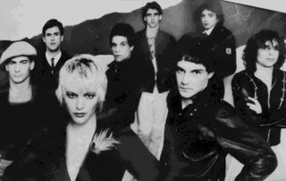 "PRETTY IN PUNK: Members pictured are guitarists JD Porro, Boney Beaupre, and Mike Cronan, vocalists Manny Vincente and Rick Mendes, keyboardist Jay Fernandes, dancer Cindy Wilson-Fera, and drummer Steve Sherman. The Probers will reunite for their 30th anniversary show at the Met in Pawtucket Rhode Island Sunday, October 6. This show will also benefit the documentary ""The Tao of the Probers"" and footage from the event will be featured in the documentary as well."