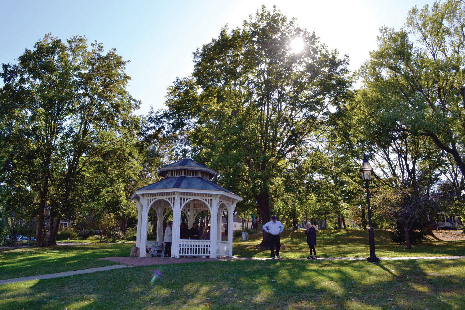 Beautiful Pawtuxet Park will be the site of the Fall-Out on Oct. 12.