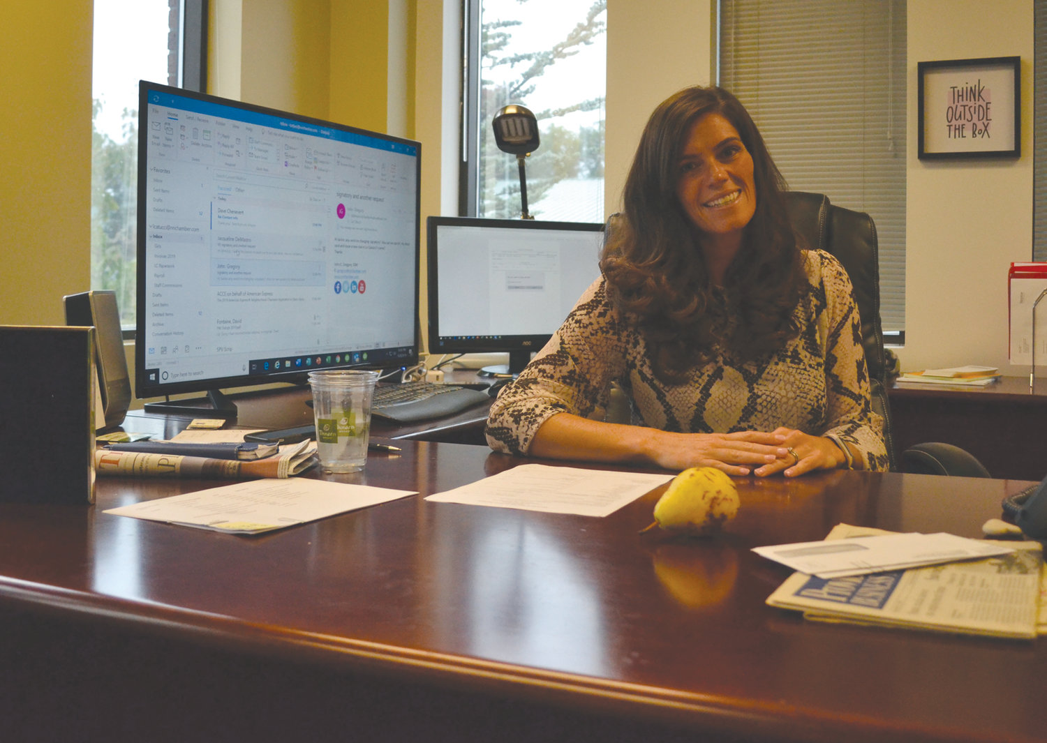 NEW CHAPTER AT THE CHAMBER: New NRICC President and CEO Liz Catucci spoke to the Sun Rise last week about her past experiences, friendship with former Chamber leader John Gregory, the day she got the good news and more.