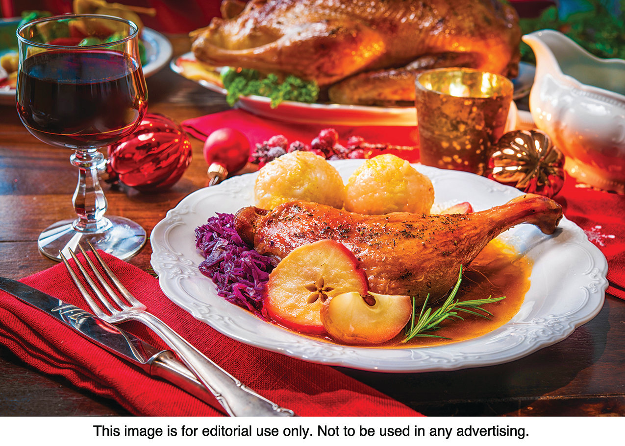 FESTIVE FEAST: Food and family are the cornerstones of holiday celebrations, and local assisted living and long-term care facilities provide many options for residents to share meals and companionship during the season.