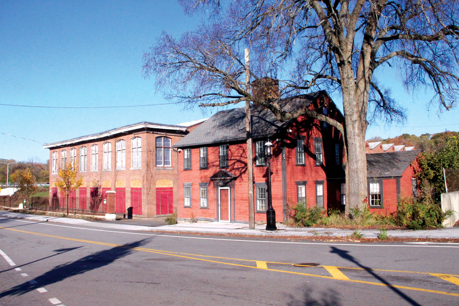 MAKING A MOVE?  The Greene Memorial House, which was included in the sale of the mill building, may be moved. AAA is in discussions with the city and will be talking to the Historic District Commission.