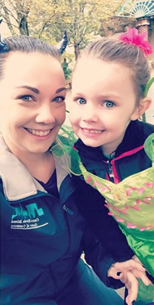 SENDING SMILES: Sarah Stoves, pictured here with her daughter, Jenna, has undergone serious surgery to remove a tumor from her lower jaw. Friends and family are raising funds to help pay for the necessary treatment she received which isn't fully covered by insurance.