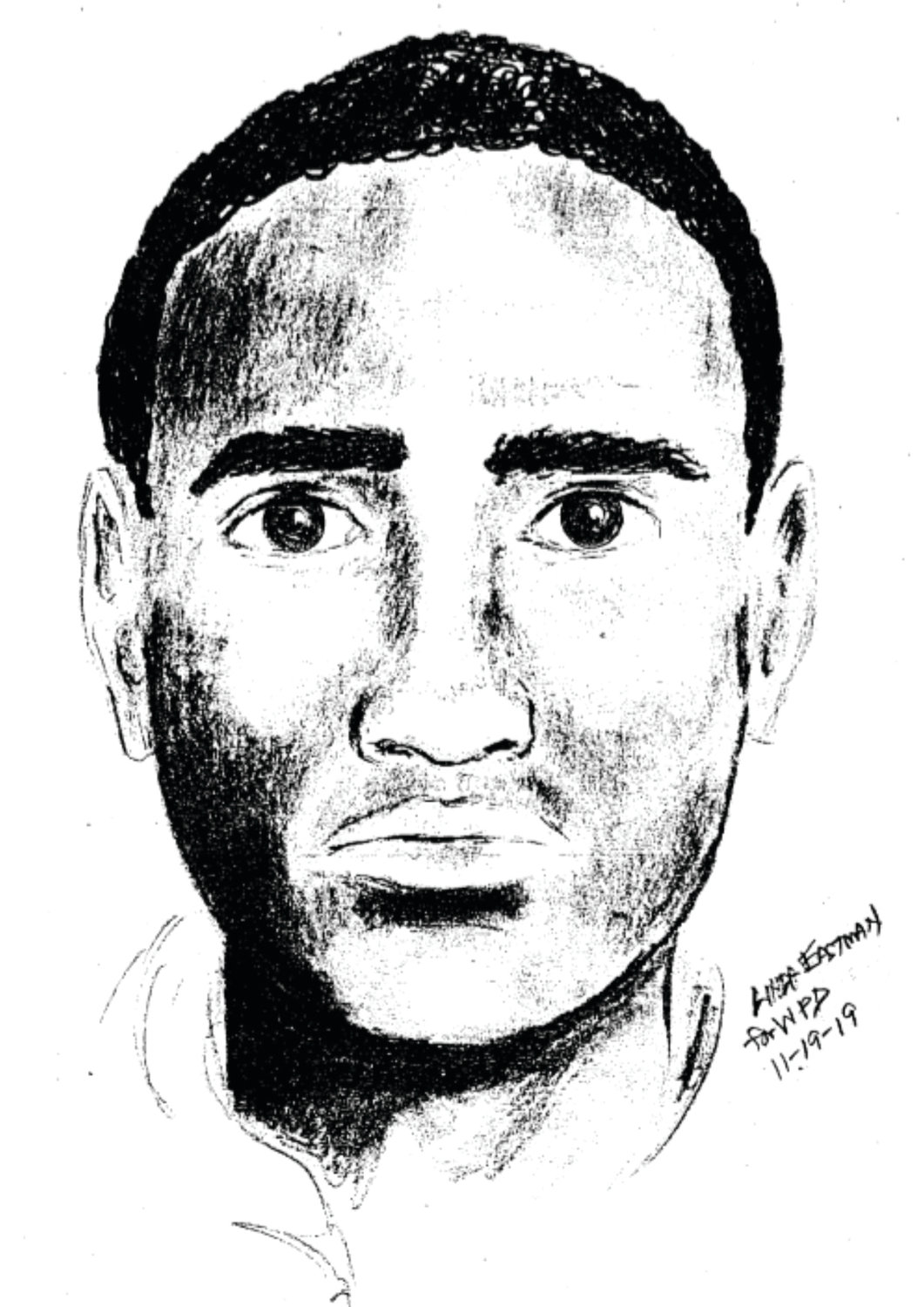SUSPECT: This composite sketch shows one of the suspects in a Nov. 9 home invasion on Draper Avenue.