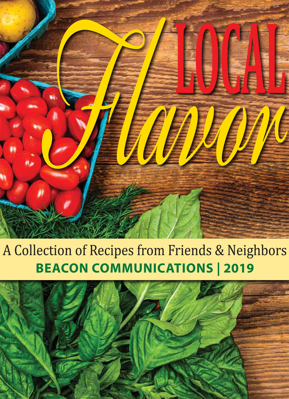 "The cover of the 2019 edition of ""Local Flavor."""