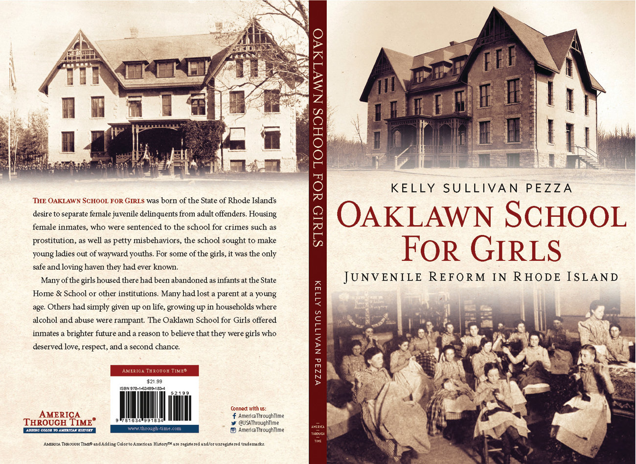 "TELLING THEIR STORIES: Kelly Sullivan's new book ""Oaklawn School for Girls: Juvenile Reform in Rhode Island"" will tell the stories of girls like Clara May Broome. It will be released Dec. 16."