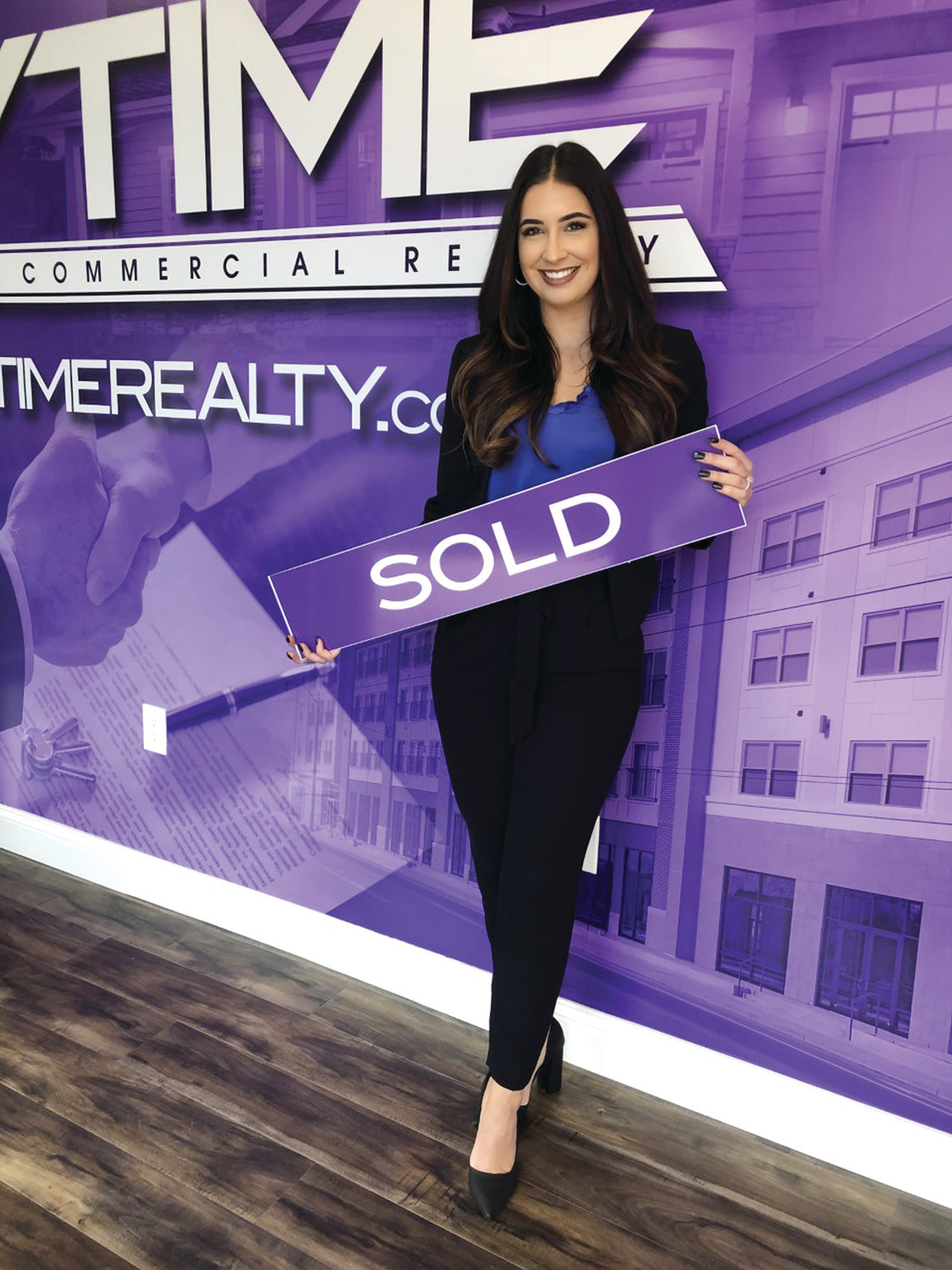 "Anytime Realty Realtor and lifelong resident of Cranston, Taylor Swanson, will work earnestly and tirelessly for you as you search for your new home or endeavor to sell your current home. She will make herself available to help you ""anytime,"" every step of the way!"