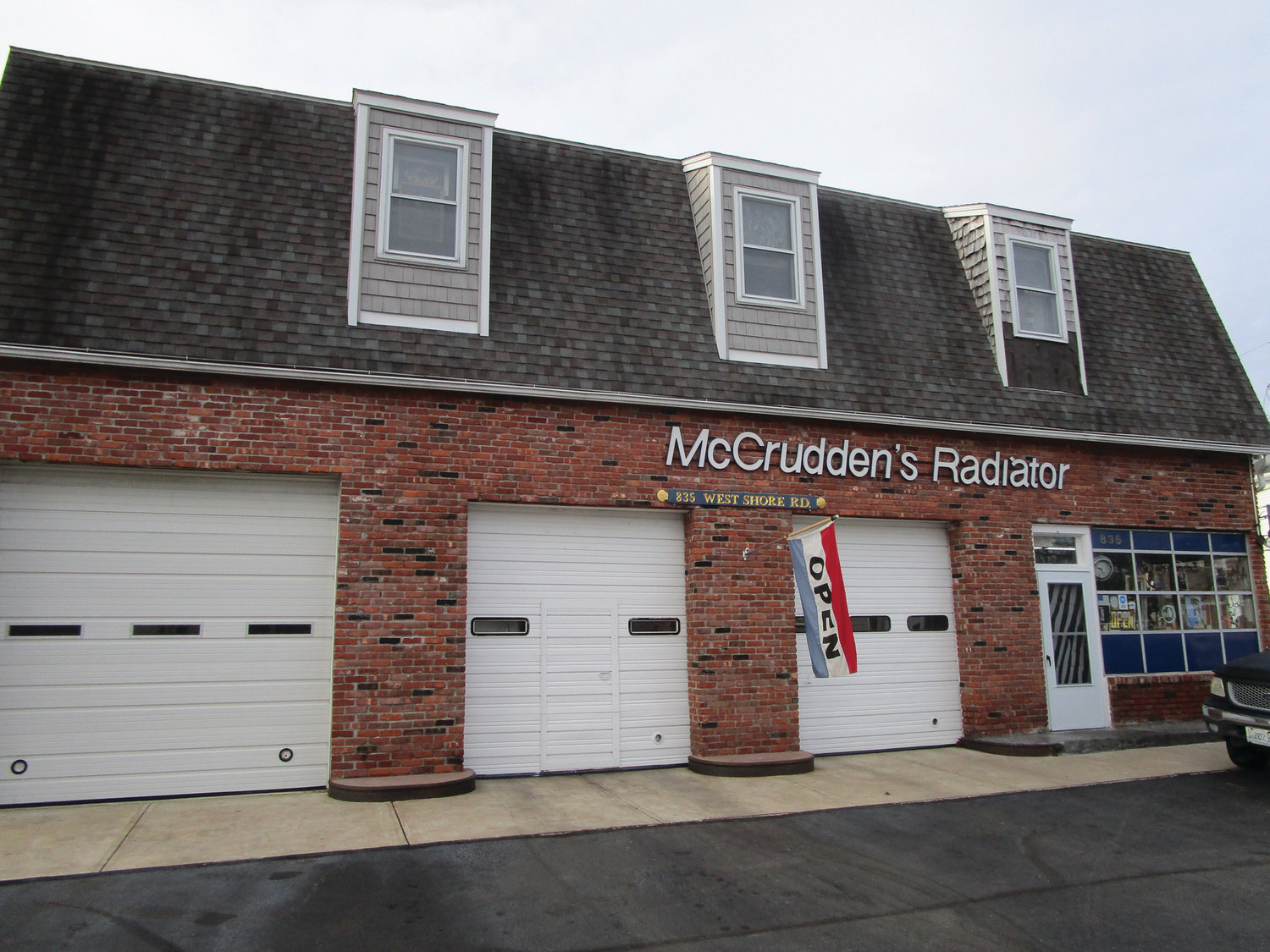 FIXTURE IN THE COMMUNITY: McCrudden's Radiator & Repair on West Shore Road in Warwick's Conimicut Village celebrated its 60th anniversary in 2019.