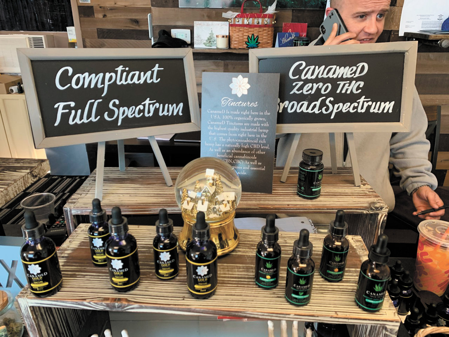 Michael Lanoue, the owner of The CBD Store, is proud to showcase his newest, 100% organic CBD product line, CanameD®Gold ~ now available at his flagship store on Post Road in Warwick and at the CBD Boutique in Wakefield. Call for more information at 401-360-7093.