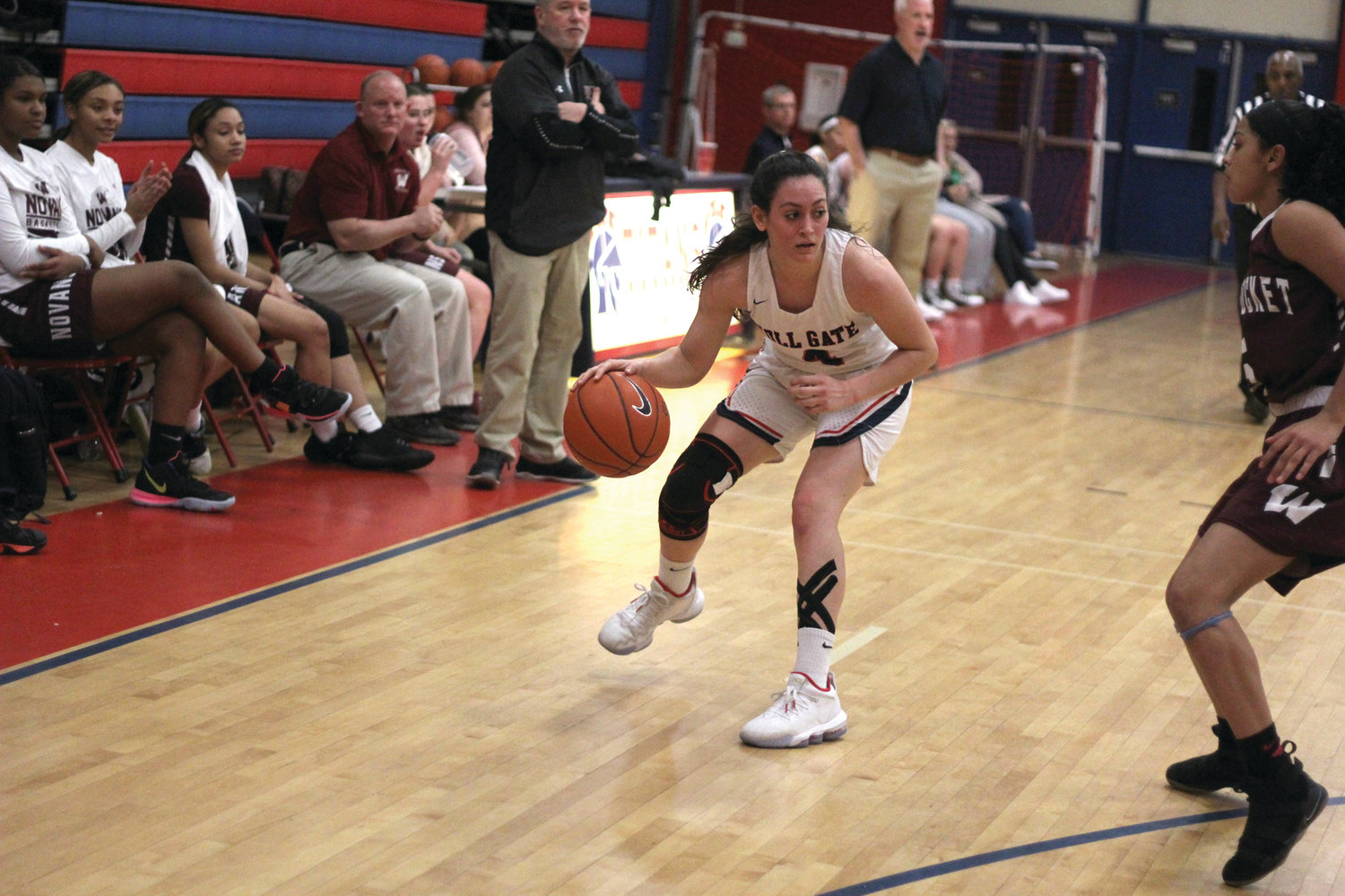 LEADING SCORER: Natalie Aloisio led Toll Gate in scoring, totaling 11 points in Tuesday's loss.