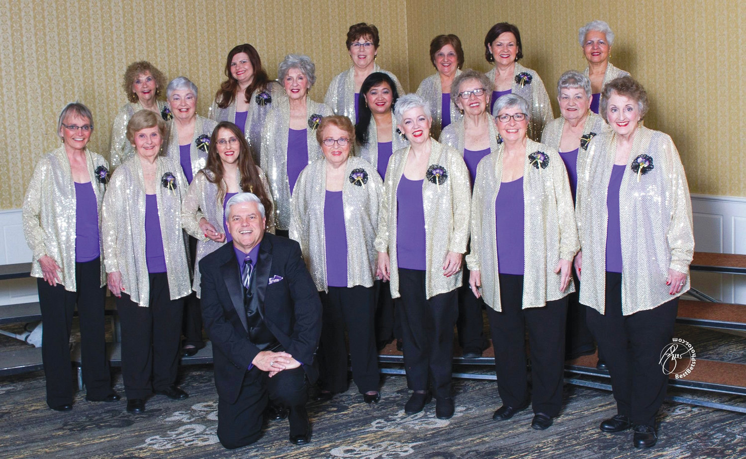 BRINGING HARMONY TO WARWICK: Harmony Heritage chorus, a Southern New England chapter of Harmony, Incorporated will perform in concert at the Warwick Public Library on Feb. 23 at 2 p.m.