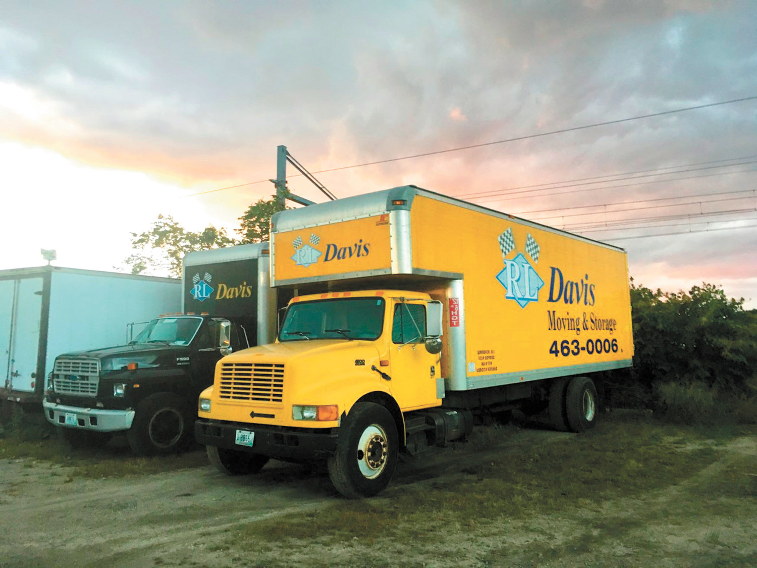 Look for this familiar yellow truck in your neighborhood from the local moving company RL Davis Moving & Storage whose history in New England goes back generations.