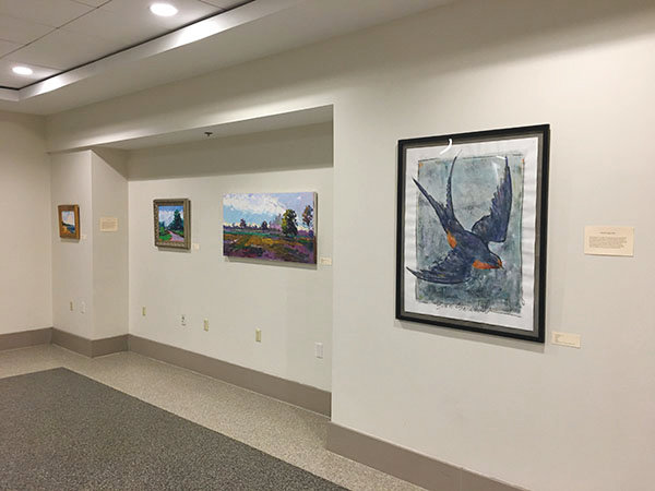 GREEN VIEW: The current exhibition at T.F. Green's GREEN SPACE Art Gallery remains open through May 17.