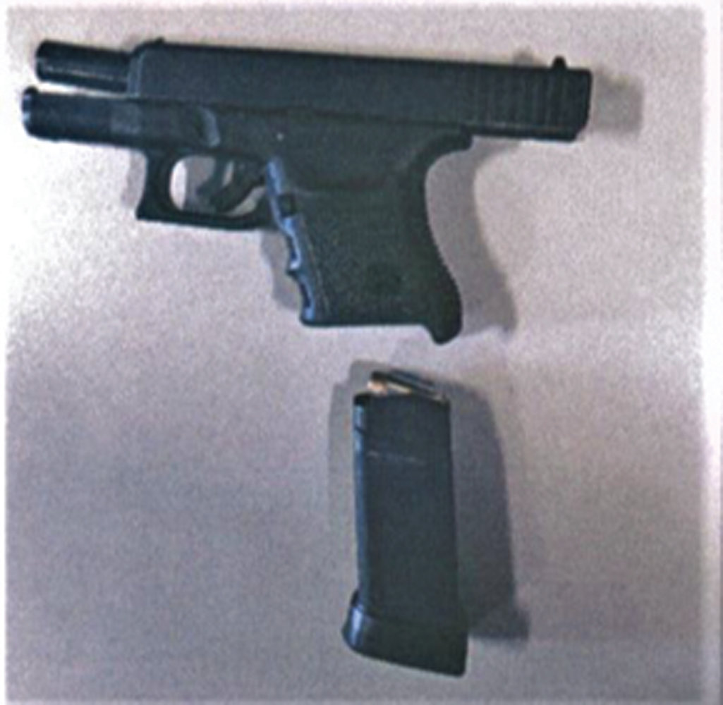 SECOND TIME THIS YEAR: TSA officers caught this loaded handgun at the T. F. Green International Airport checkpoint on March 2.