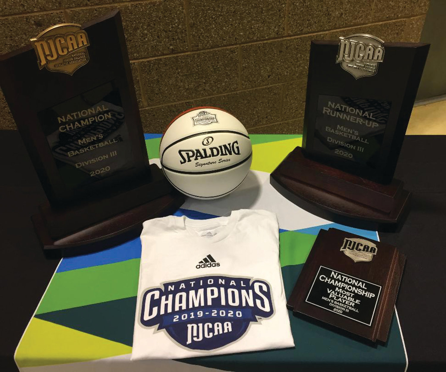 TROPHY CASE: A look at some of the tournament's memorabilia.