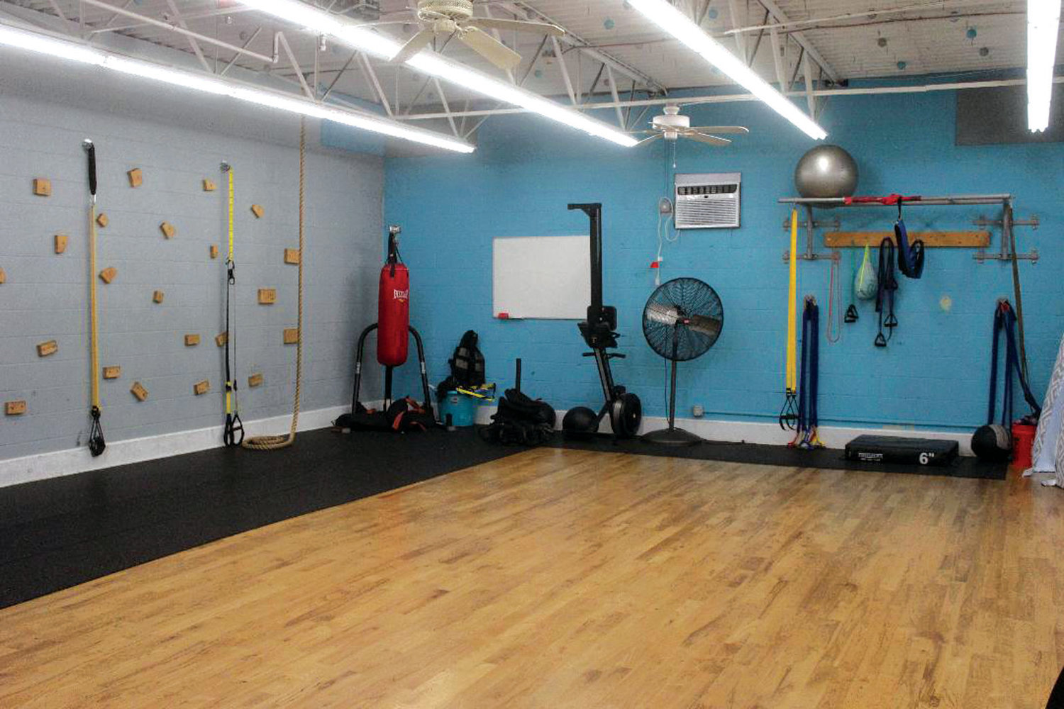 A CLOSER LOOK: A look in Stacie Venagro Fitness in Cranston.