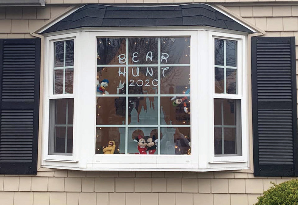 This Warwick window has a Disney theme.