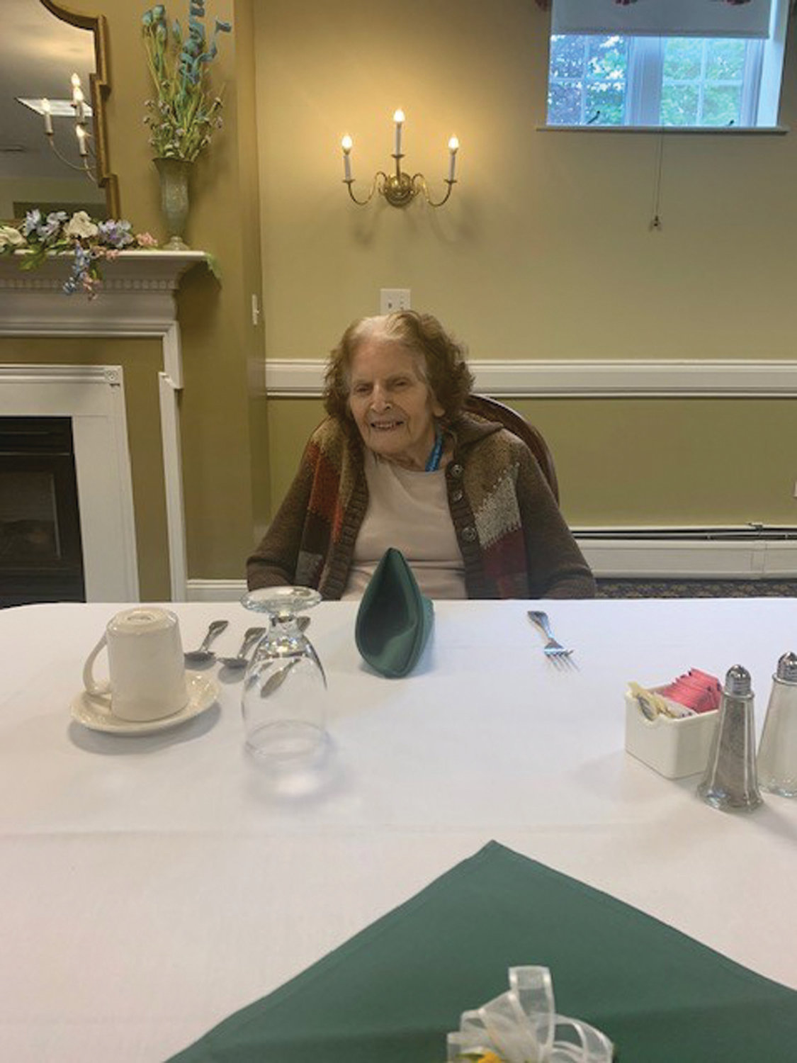 "OFFERING ADVICE: Angela McCord, who turned 103 on April 13, said, ""Don't have children and you will live to be as old as me."""