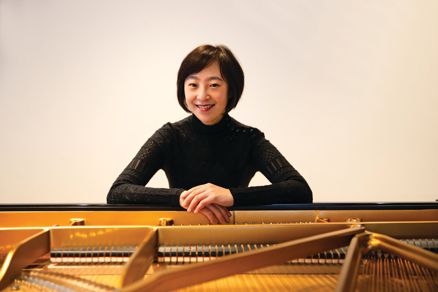 LEADING THE WAY: Natalie Zhu, artistic director of the Kingston Chamber Music Festival, has planned a series of free online concerts in celebration of Beethoven's 250th birthday.