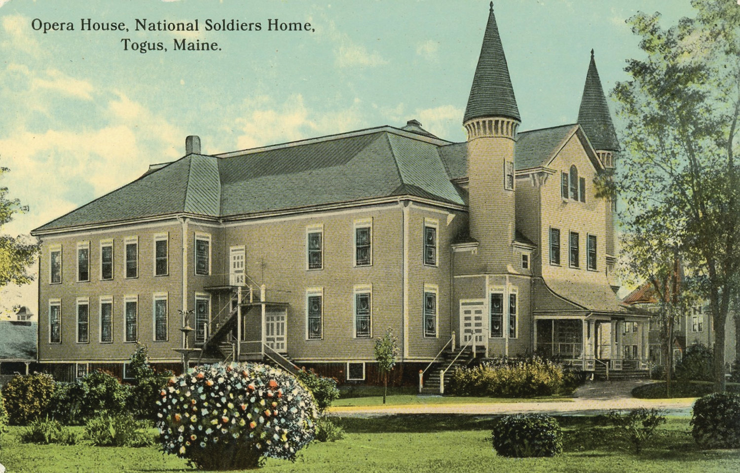 HISTORIC SITE: The Eastern branch of the National Home for Disabled Volunteer Soldiers – a former hotel in Togus, Maine – was created by the federal government following the Civil War in the mid 1860s.