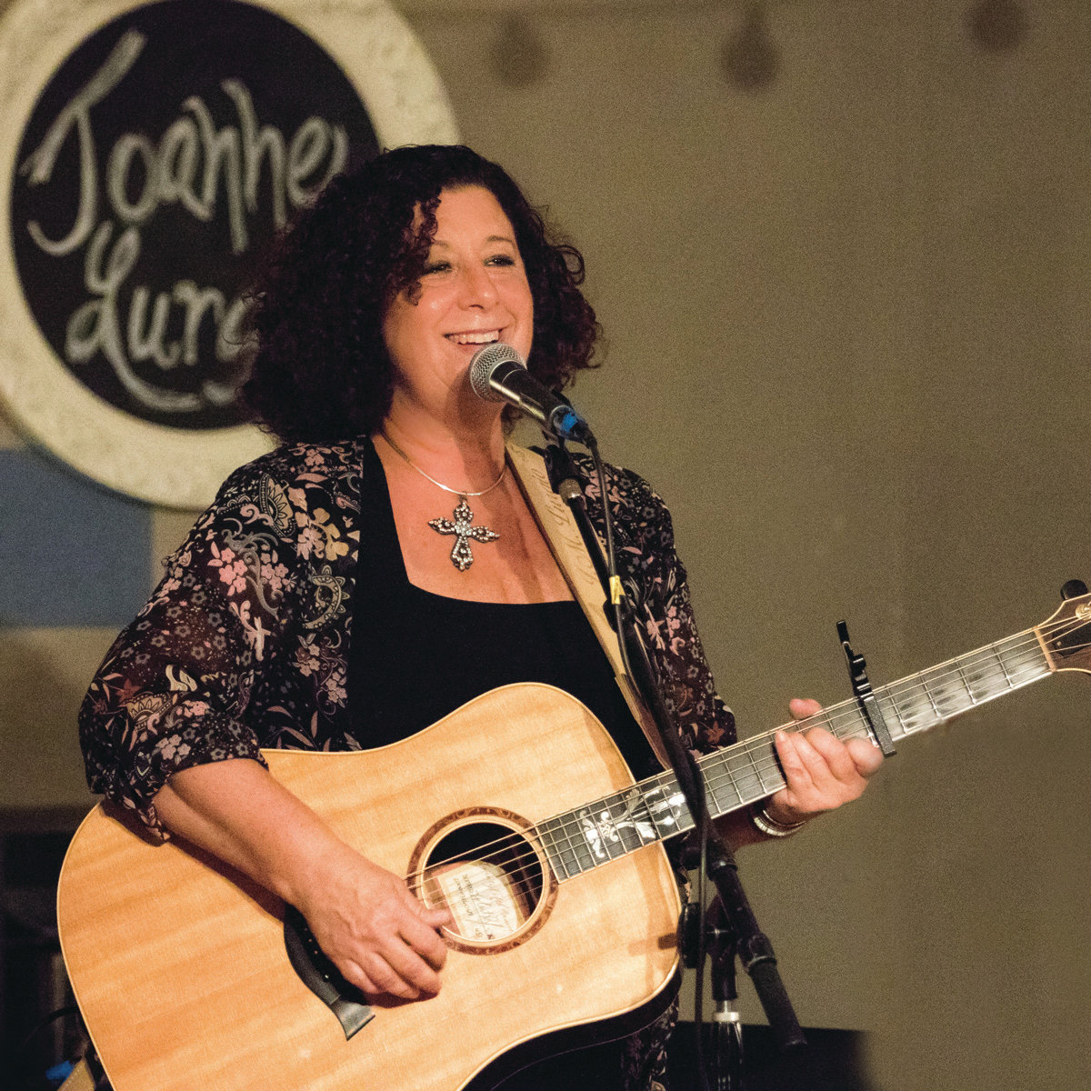 "SHARING EMOTIONS: Warwick resident and musician Joanne Lurgio recently won the John Lennon Songwriting Contest's ""Stuck at Home"" weekly songwriting contest with her song ""Seven Minutes Down,"" recounting the final moments of George Floyd."