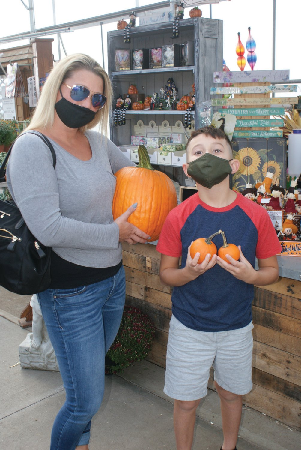 PERFECT PICKS: Finding their perfect pumpkins at Confreda